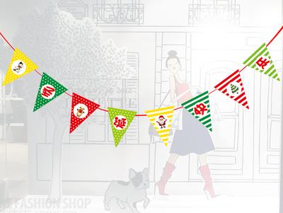Лучшее для создания интерьера и декора! Из Китая с любовью!  — Флажные гирлянды — Сувениры