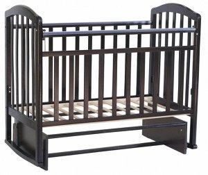 """***Кроватка детская  """"Sweet Baby"""" Emilia Wenge  цв. венге"""