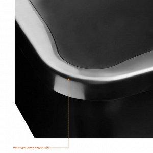 Таз STAYER 120 л таз строительный прямоугольный  Максимальный вес переносимого груза, кг: 90 Материал: пластмасса Объем, л: 120 Размер, см: 30х60х85 Вес: 2.7 кг