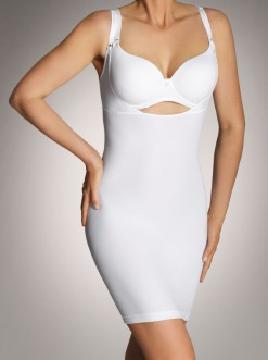 Платье женское коррекция, цвет ЧЕРНЫЙ, размер 50-52