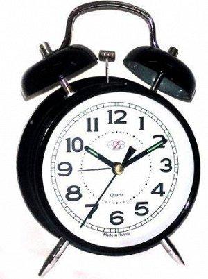 Будильник Тип механизма: Кварцевый Корпус: Латунь Минеральное стекло ГАБАРИТЫ (В\Ш\Г) : 165-115-55 (мм.)
