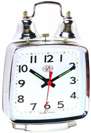 Будильник Тип механизма: Кварцевый Корпус: Латунь Минеральное стекло ГАБАРИТЫ (В\Ш\Г) : 170-115-45 (мм.)