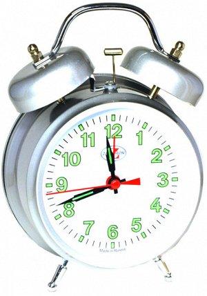 Будильник Тип механизма: Кварцевый Корпус: Латунь Минеральное стекло ГАБАРИТЫ (В\Ш\Г) : 170-120-60 (мм.)