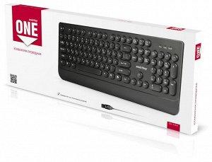 Клавиатура проводная Smartbuy ONE 228 USB Black (SBK-228-K)