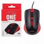 Мышь проводная Smartbuy ONE 352 красно-черная (SBM-352-RK) / 100