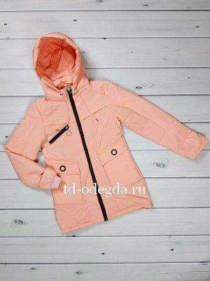 Куртка 819 персик