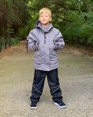 Куртка зимняя для мальчиков (Ткань верха Мембранная ,утеплитель сиберия 300, подкладка флис/тафета,застежка-молния, внутренний к