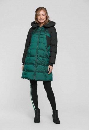 """Пальто """"Бритни""""  зеленый"""