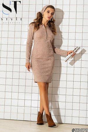 Комплект двойка 53679 (платье+повязка-хомут)