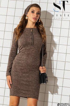 Комплект двойка 53671 (платье+повязка-хомут)