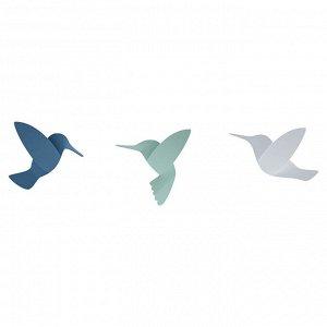 Декор для стен Hummingbird 9 элементов разноцветный