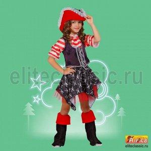 """Детский карнавальный костюм """"Пиратка"""""""""""