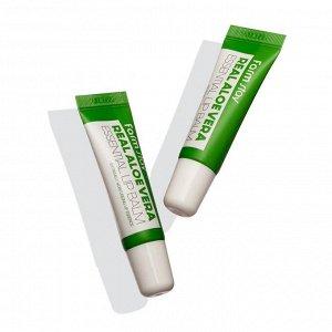 FarmStay Real Aloe Vera Essential Lip Balm Бальзам для губ с алоэ 10 мл