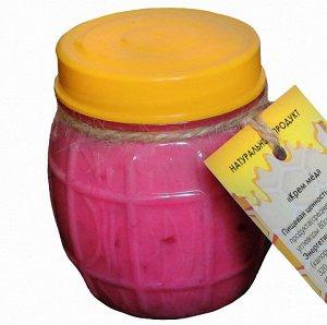 Крем мед малина