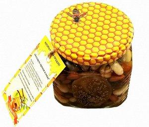 Ассорти орехов в меду 250 гр.