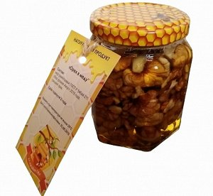 Орех в меду Грецкий орех
