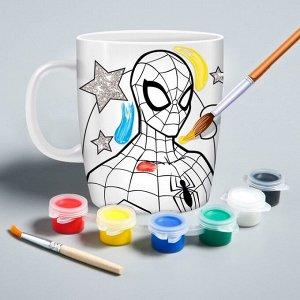 Кружка под роспись «Spider-Man»?, Человек-Паук, 250 мл