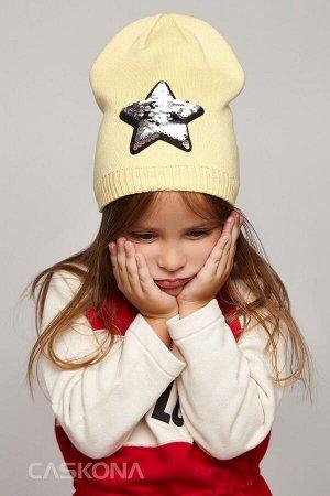 Caskona Starlet Uni ШАПКА светло-жёлтый