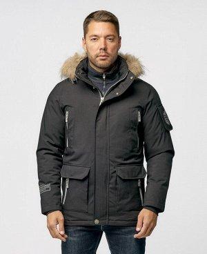 . Черный; Красный; Темно-синий;    POO 9366 Стильная, комфортная куртка, изготовлена из качественной ветрозащитной ткани с водоотталкивающим покрытием. Четыре нагрудных кармана (два на молниях, два н