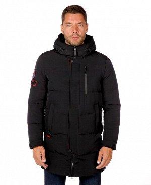 . Темно-синий; Черный; Красный;    Куртка ICR 18856  Стильная, комфортная куртка изготовлена из качественной ветрозащитной ткани с водоотталкивающим покрытием.  Двухсторонняя основная молния (в