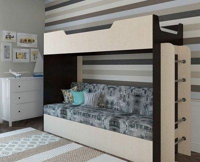 Мебель от производителя. Стеллажи от 2809 руб. — Двухярусные кровати — Детская
