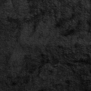 Накидка на сиденье, натуральная шерсть, 145 х 55 см, черная