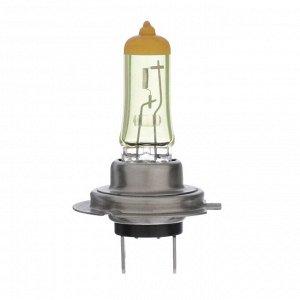 Галогенная лампа Cartage Golden Eye H7, 55 Вт +30%, 12 В, набор 2 шт