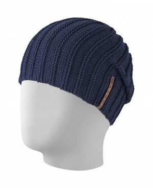 Шапка WAVE Модель: WAVE Размер: Универсальный. Описание модели: Молодежная двухсторонняя шапка. Состав: 50% шерсть, 50% акрил (Италия).
