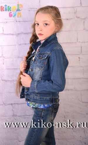3020 Куртка джинсовая для девочки
