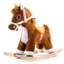 Лошадь-качалка (коричневый) ЭКО См-750-4Лш ш75045