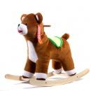 Медведь-качалка (коричневый) ЭКО  См-750-4М ш75046