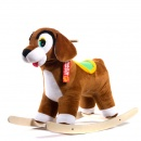 Собака-качалка (коричневый) ЭКО См-750-4С ш44859