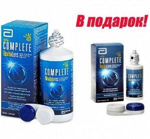 Раствор для контактных линз Complete RevitaLens 360мл+60