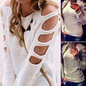 Джемпер Вязаный джемпер для женщин отличный способ дополнить свой гардероб эксклюзивной вещью