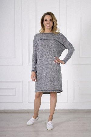 Платье 689 ангора строчка