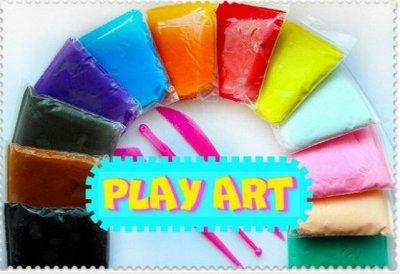 PLAY ART! 3D пластилин! АКВАпесок! Песочный пластилин!   — Легкий 3D пластилин (полимерная глина)! ХИТ ПРОДАЖ! — Для творчества