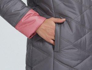 Демисезонная женская куртка с капюшоном, цвет молоко