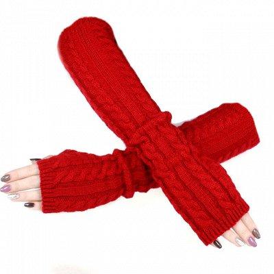 №139. =✦Bloomy line✦-детская мода для маленьких модниц — Митенки — Вязаные перчатки и варежки