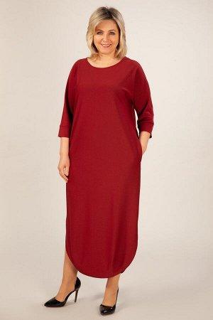 Платье Мона красный