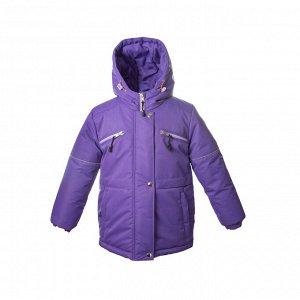 Куртка демисезон Арт. 10225 МЕМБРАНА однотонный фиолетовый