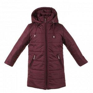 Пальто зимнее Арт. 05073 бордовый