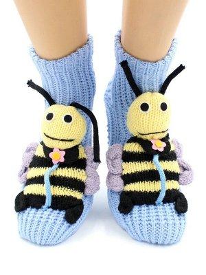 "Носки детские ""Hobby Line""/12/ АВС, вязаные, ""Пчелка"""