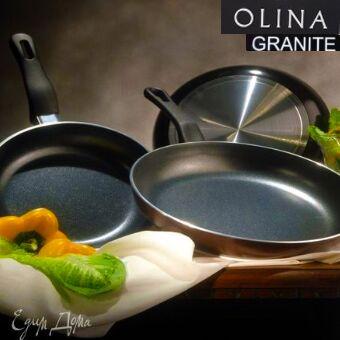 """#Осенние новинки💥Набор сковородок AMERCOOK от 399 руб -5!  — Новинка! """"Olina Granite"""" каменные сковороды! — Сковороды"""