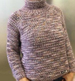 Женский меланжевый свитер