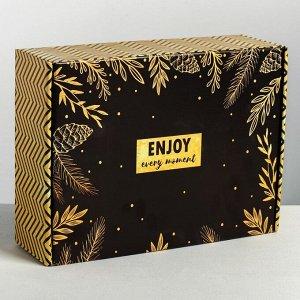 Складная коробка «С Новым годом», 30.7 ? 22 ? 9.5 см