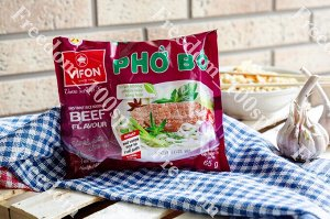 Лапша рисовая Вифон PHO BO со вкусом говядины, 65 г