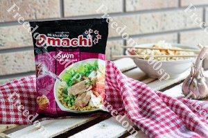 Лапша OMACHI свинина