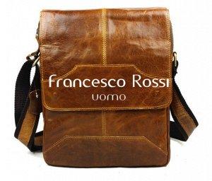 Elio Мужская планшетная сумка из качественной кожи Размер сумки: длина – 24 см, высота – 28 см, ширина – 7 см. Есть длинная наплечная шлейка с регулируемой длиной. Мужская сумка из натуральной кожи вы