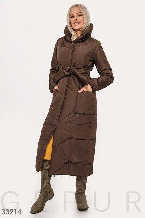 Куртка шоколадного оттенка