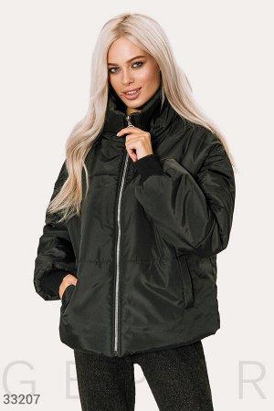 Утепленная короткая куртка